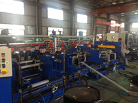 U-shaped hoarding forming line for freezer body