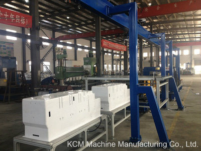Refrigerator Inner Liner Punching Machine for Side by Side Fridge and Freezer Liner From KCM